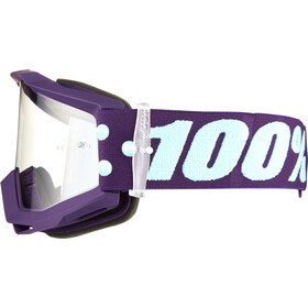 100% Accuri Anti Fog Clear Goggles maneuver